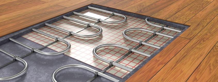 Chauffage au sol via une pompe à chaleur