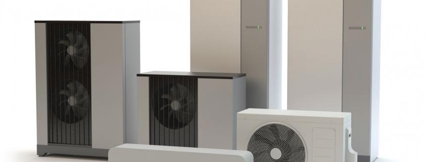 Modèles de pompe à chaleur